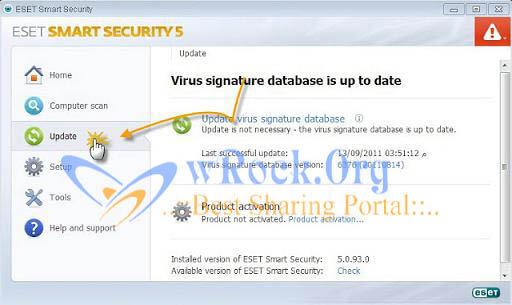 eset Nod32 antivirus activation process