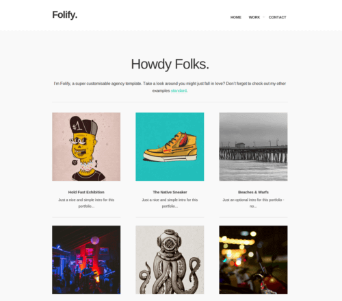 Folify Blogger Template