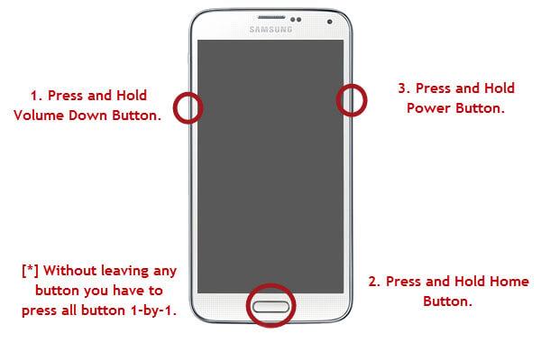 Galaxy J5 and J7 Hard Reset and Pattern Unlock