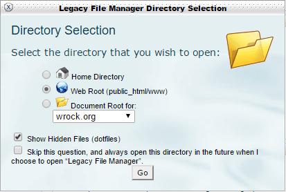 show-hidden-files-in server