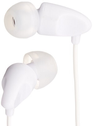 AmazonBasics In-Ear Headphones with Mic