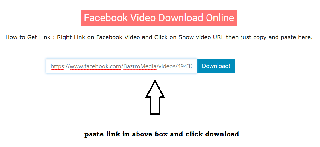 facebook video download direct